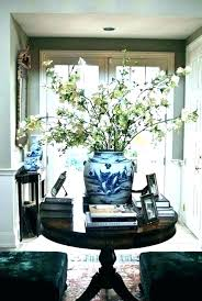 foyer accent table entry accent tables round entrance table foyer round table foyer