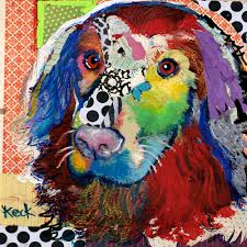 p cpy abstract painting and collage of animals lessons tes teach
