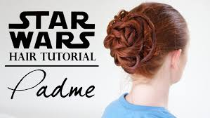 star wars hair styles star wars hair padmé in the gladiator ring youtube