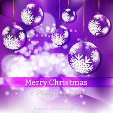 purple christmas ornament background template 123freevectors