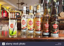 mojito cocktail bottle rum bottles bar stock photos u0026 rum bottles bar stock images alamy