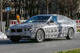 2017 bmw 5 series gran turismo spied again with improved design