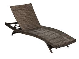 Folding Chaise Lounge Chair Woven Resin Wicker Contour Folding Chaise Lounge Chair