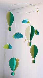 mobile chambre enfant mobile bébé origami papier suspension en spirale chambre bébé