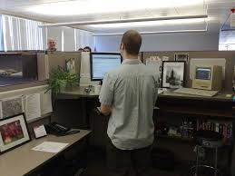 Standing Desk For Cubicle How The Universally Hated Cubicle Came To Be Vox