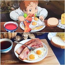 animation cuisine japanese animation meals in fubiz media