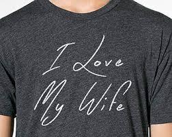 christmas gift i love my wife mens t shirt funny tshirt