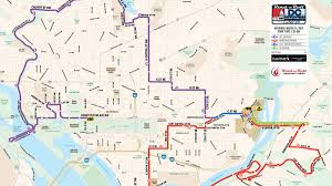 Dmv Metro Map by Major Roads Closed For Rock U0027n U0027 Roll Marathon Nbc4 Washington