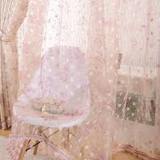 country polyester special faux silk sheer curtains