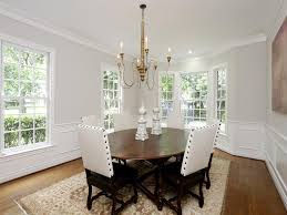 Wainscoting Dining Room Ideas Wainscoting Design Ideas Contemporary Grey Fabric Dining Chair