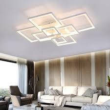 ladari moderni da soffitto moderno led ladario a soffitto acrilico lada per