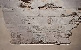 Text Messages Show Horror Inside - berlin woman revives red army ghosts in reichstag graffiti the