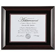 certificate frame diploma certificate frames bed bath beyond
