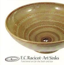 ed racicot art sinks small bathroom sinks hand painted sinks