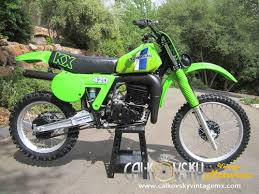 vintage motocross bikes sale new 1981 kawasaki kx 420 vintage motocross dirt bike