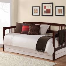 Iron Daybed With Trundle Furniture Cozy Daybeds With Pop Up Trundle For Home Decor Ideas