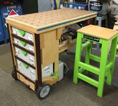 Second Hand Work Bench Mf Tc Multifunction Tool Cart Benchworks