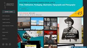 creativity international graphic design and advertising awards