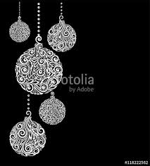 black christmas cards beautiful monochrome black and white christmas background with