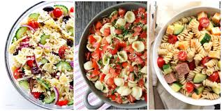 Homemade Pasta Salad by 30 Easy Pasta Salad Recipes Best Cold Pasta Dishes