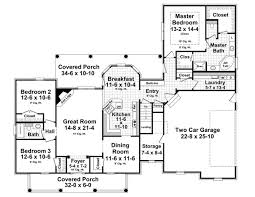 traditional house floor plans house plan 55602 at familyhomeplans com