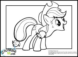 my little pony applejack coloring pages 9824