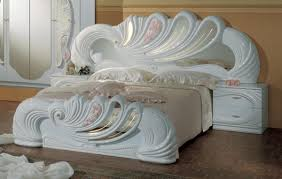 White Bedroom Furniture Jerome Diva Rocker Glam Beds