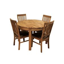 kitchen white round dining table set dining room table and