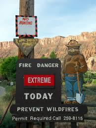 Texas Wildfire Danger Map by Wildfire The Why Files