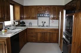 White With Brown Glaze Kitchen by Painting Kitchen Cabinetse Diy Antique Cost With Glaze Refinishing