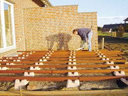 eine terrasse selber bauen schritt für schritt
