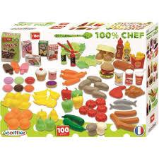cuisine ecoiffier 18 mois coffret 100 pièces ecoiffier pas cher à prix auchan