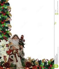 christmas border writing paper christmas border victorian santa royalty free stock photos image background border christmas