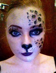 Giraffe Halloween Makeup Leopard Half Face Makeup Tutorial Halloween Youtube