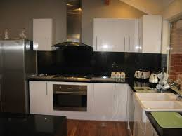 Damaged Kitchen Cabinets For Sale Granite Countertop Granite And White Cabinets Water Leak From