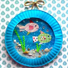 fish aquarium craft kit por smartbottomkids en etsy 12 00