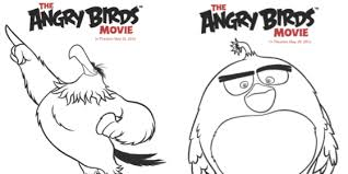 angry birds movie coloring sheets prize pack giveaway