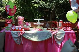 Strawberry Shortcake themed party