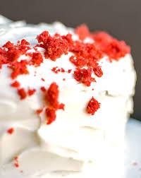 red velvet cake with cream cheese frosting homemade hooplah