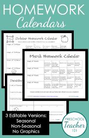 calendars teacher calendar template homework calendar have a monthly calendar for homework and
