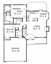 this inviting ranch style home with a small footprint house plan