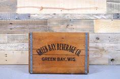 unique glen rock beverage co wood shipping crate never seen