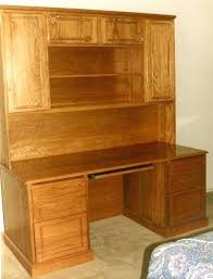 Oak Desk With Hutch Desk Solid Wood Student Desk With Hutch Solid Wood Writing Desk