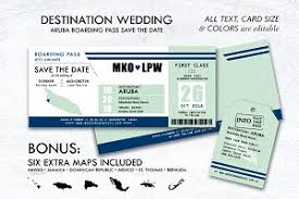 Boarding Pass Save The Date Boarding Pass Photos Graphics Fonts Themes Templates