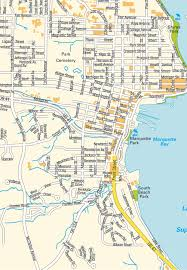 Michigan Map by Map Marquette Mi Michigan Usa Maps And Directions At Map