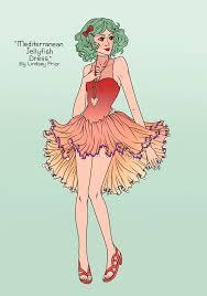 jellyfish dress mediterranean jellyfish dress by sketchtastrophe on deviantart