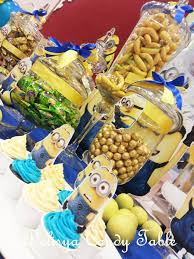 Minions Candy Buffet by Delisya Candy Table
