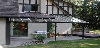 sundesign patio cover glass awning and aluminum shade awning