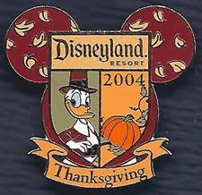 donald duck thanksgiving ebay
