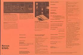 K Henkatalog Revox Katalog 1981 Mit Technischen Daten